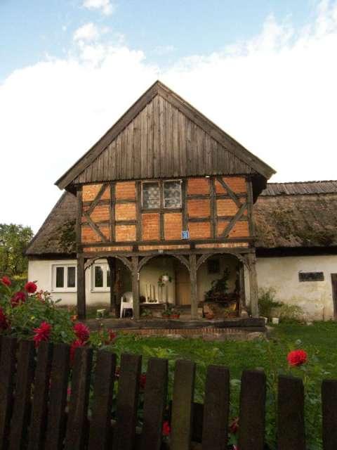 Dom podcieniowy w Łęczu