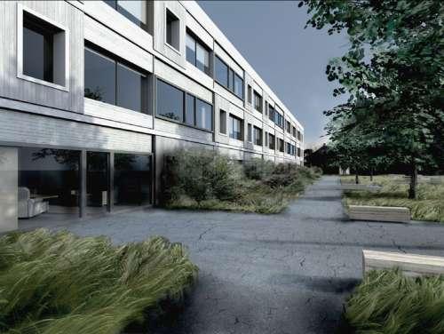 senior housing w Kirunie - projekt