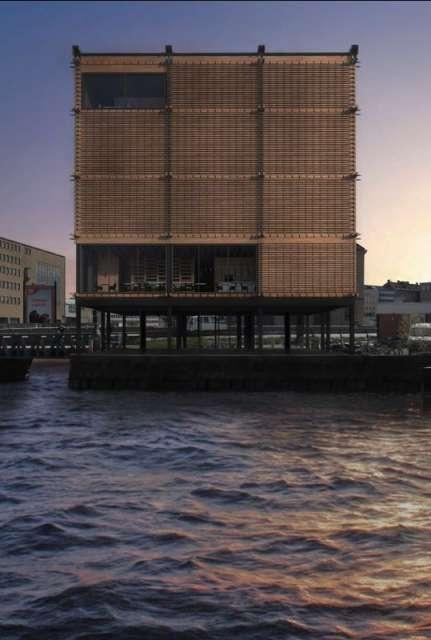 pawilon wystawienniczy w Rosenlund - projekt